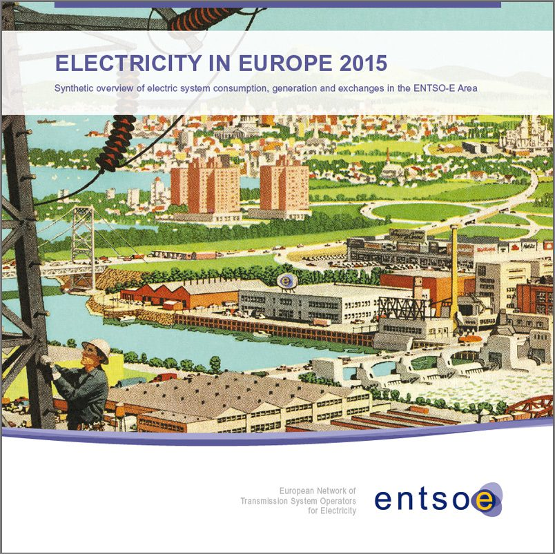 ENTSO-E Electricity in Europe 2015
